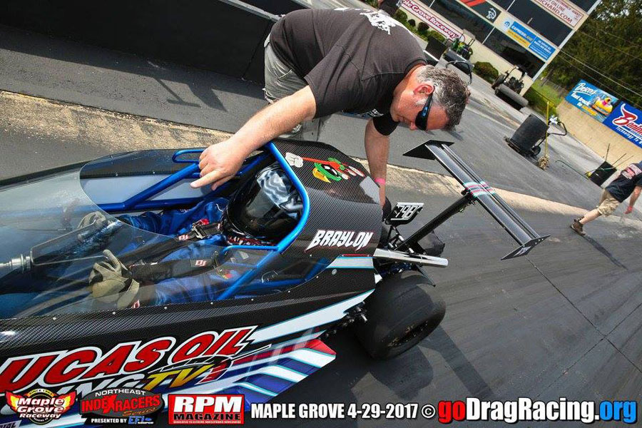 Kuhn Racing jr Dragster Maple Grove 2017