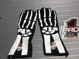 Pro 1 Safety skeleton gloves
