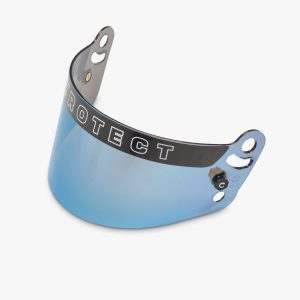 Pyrotect helmet shield blue iridescent